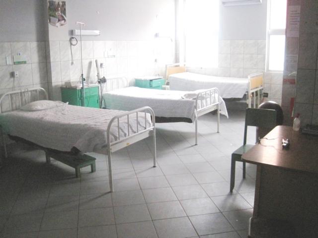Палата, в которой отдыхают пациенты после операции.