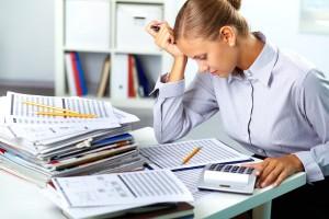 Бухгалтерия и её опасность для здоровья