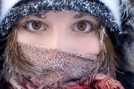 Контактные линзы и зима