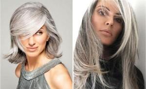 Как правильно возвращать окрашенные волосы к седому натуральному цвету